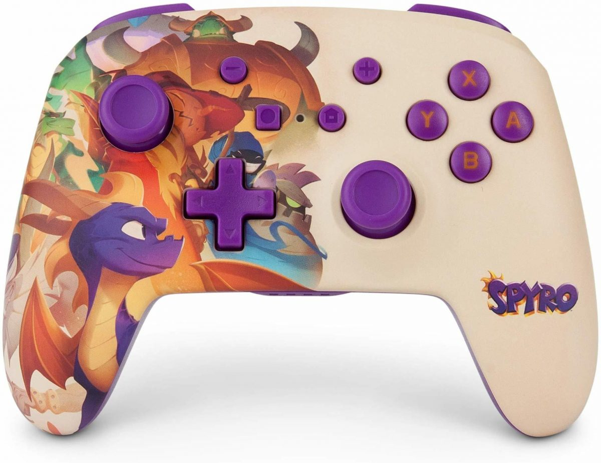 Spyro Nintendo Switch Controller Made In Preparation For Spyro Reignited Switch Port