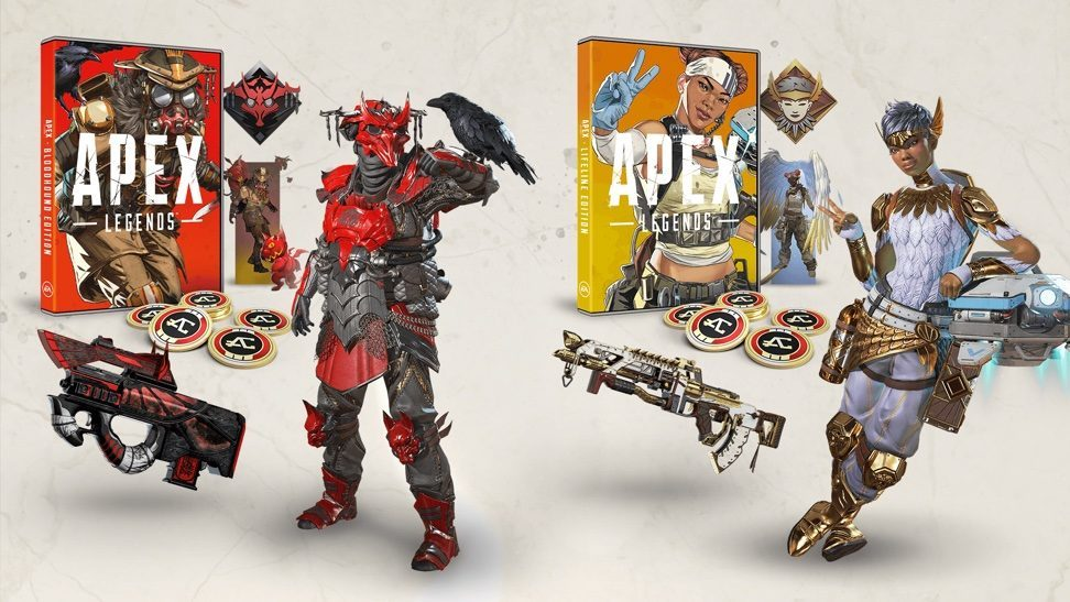 Apex Legends Bloodhound And Lifeline Editions Set For Retail