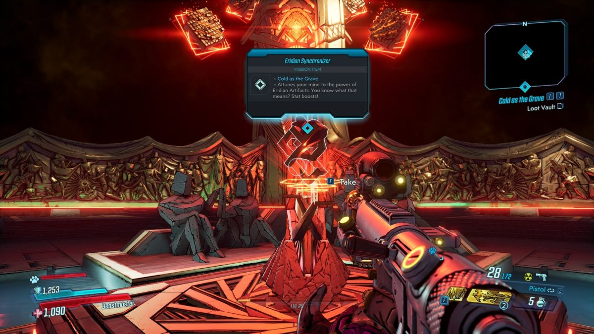 Borderlands 3 Artifact Unlocks Guide – How to Use, Artifact Bonuses