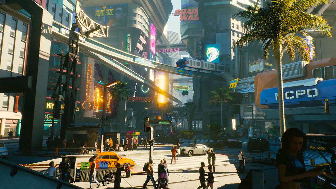 CD Projekt Red Explains The Design Process Behind Their Iconic Night City In Cyberpunk 2077