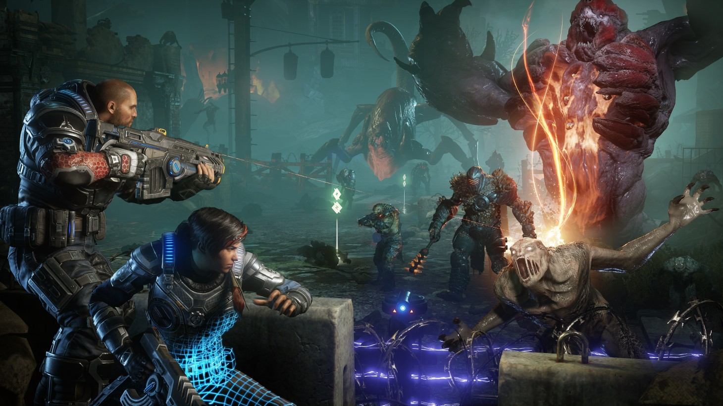 Not Earning XP Or Collectibles In Gears 5? You're Not Alone