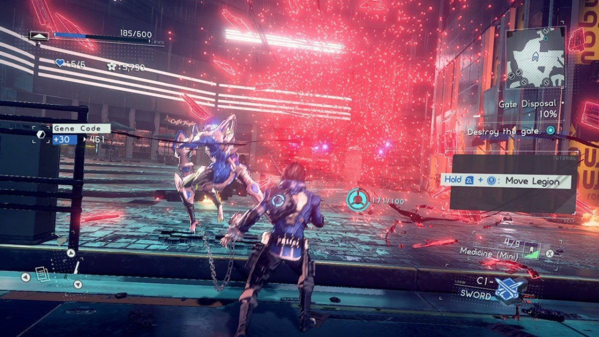 Astral Chain Briareos Boss Fight Guide
