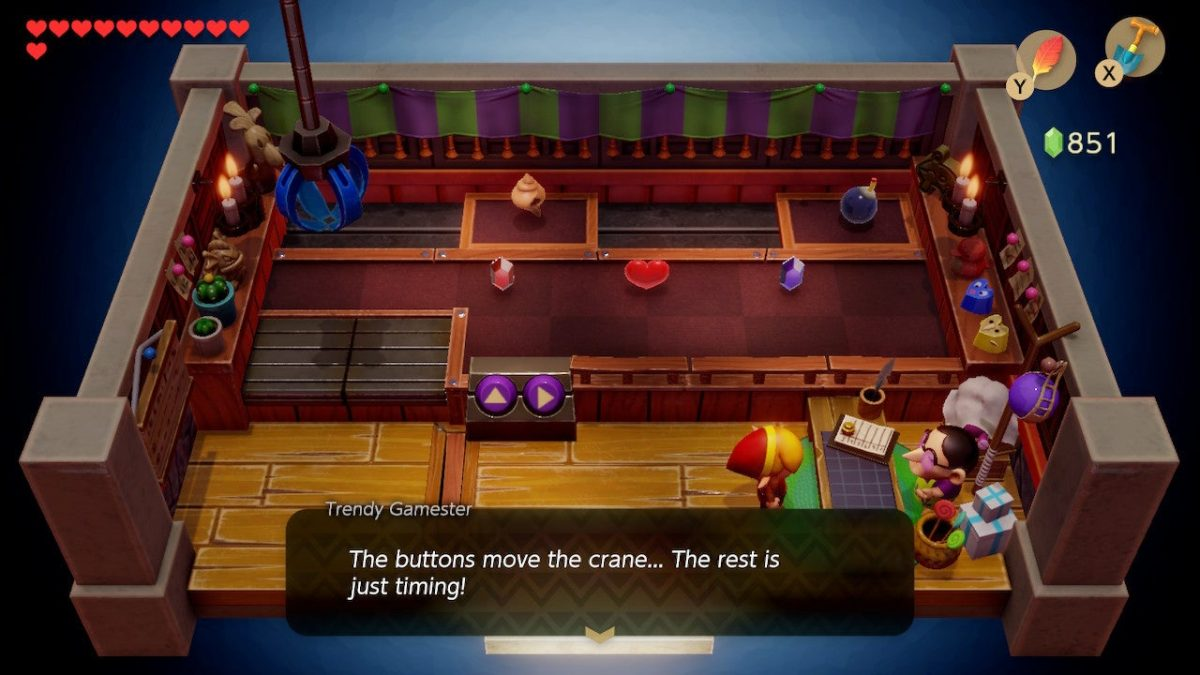 Zelda: Link's Awakening Claw Machine Puzzle Guide – How to Start, Tips to Win
