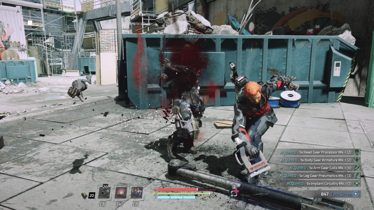 The Surge 2 Boss Weapons Locations Guide