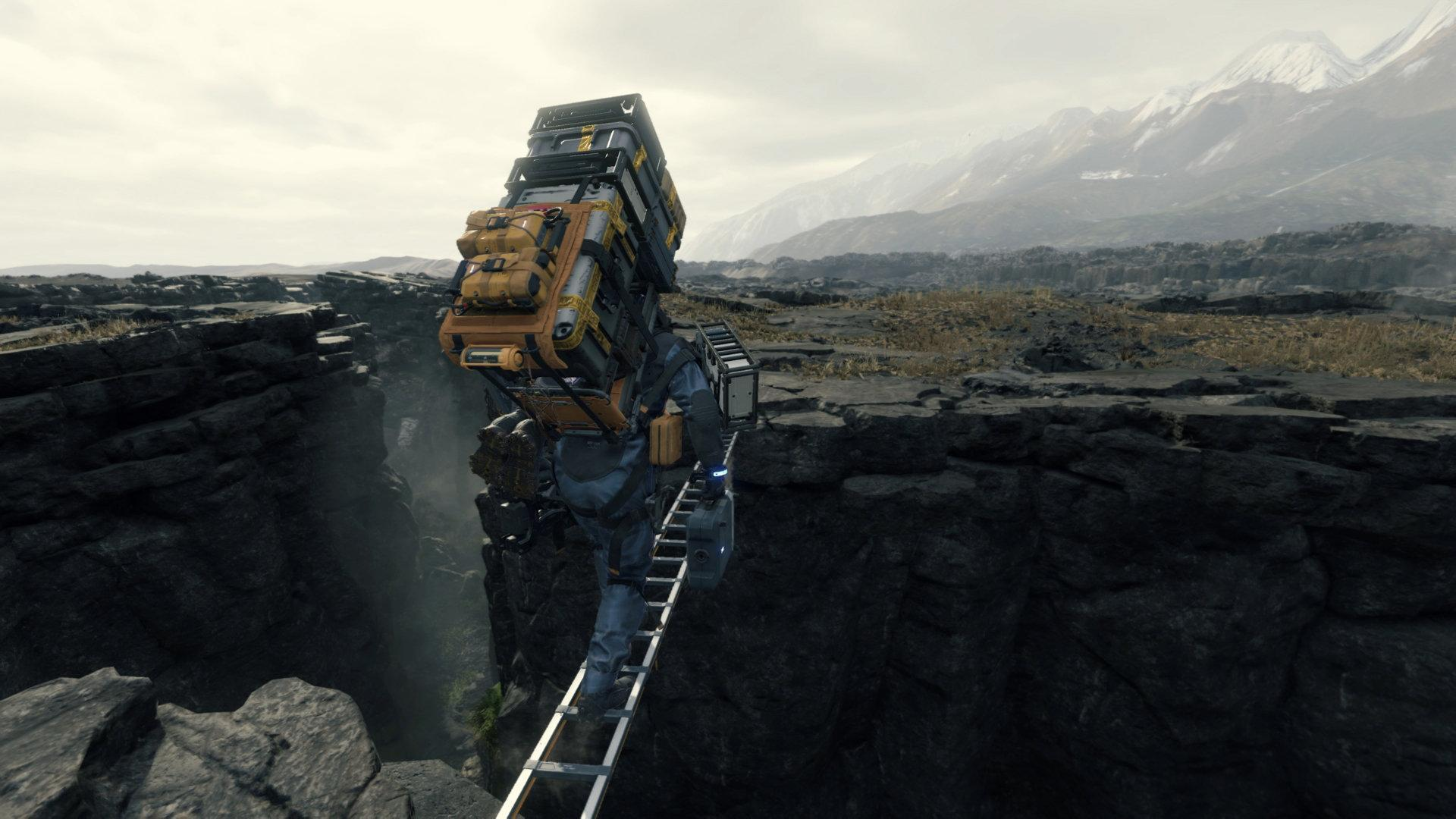 Death Stranding Structures Will Vanish If Not Maintained