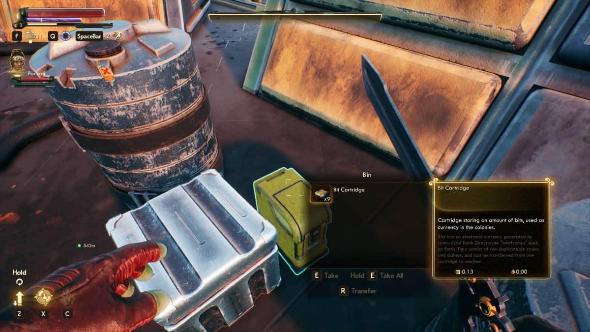 The Outer Worlds Bits (Money) Farming Tips