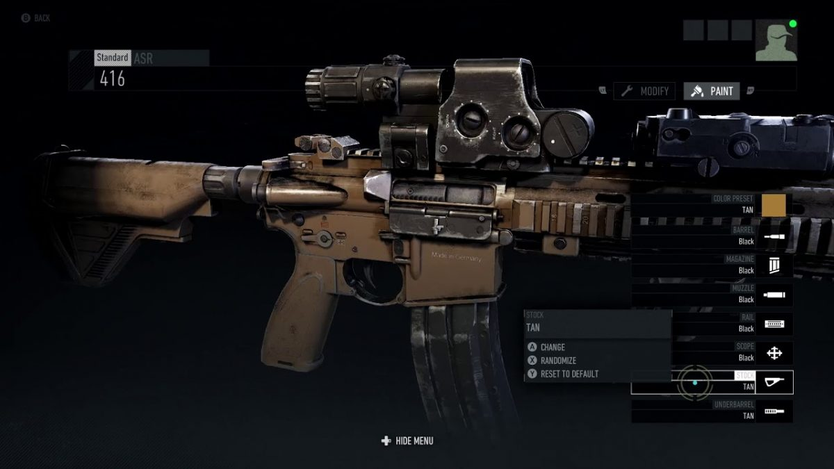 Ghost Recon Breakpoint Weapon Blueprints and Attachment Locations Guide