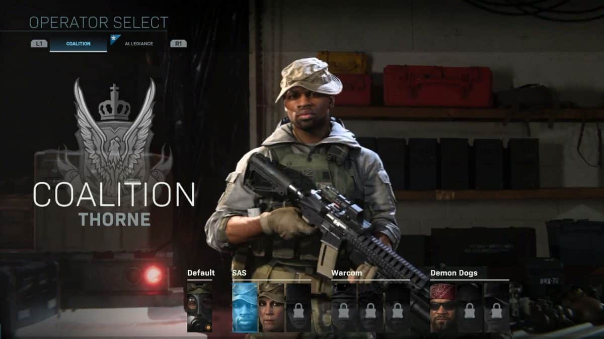Call Of Duty Modern Warfare Character Customization Tips Segmentnext