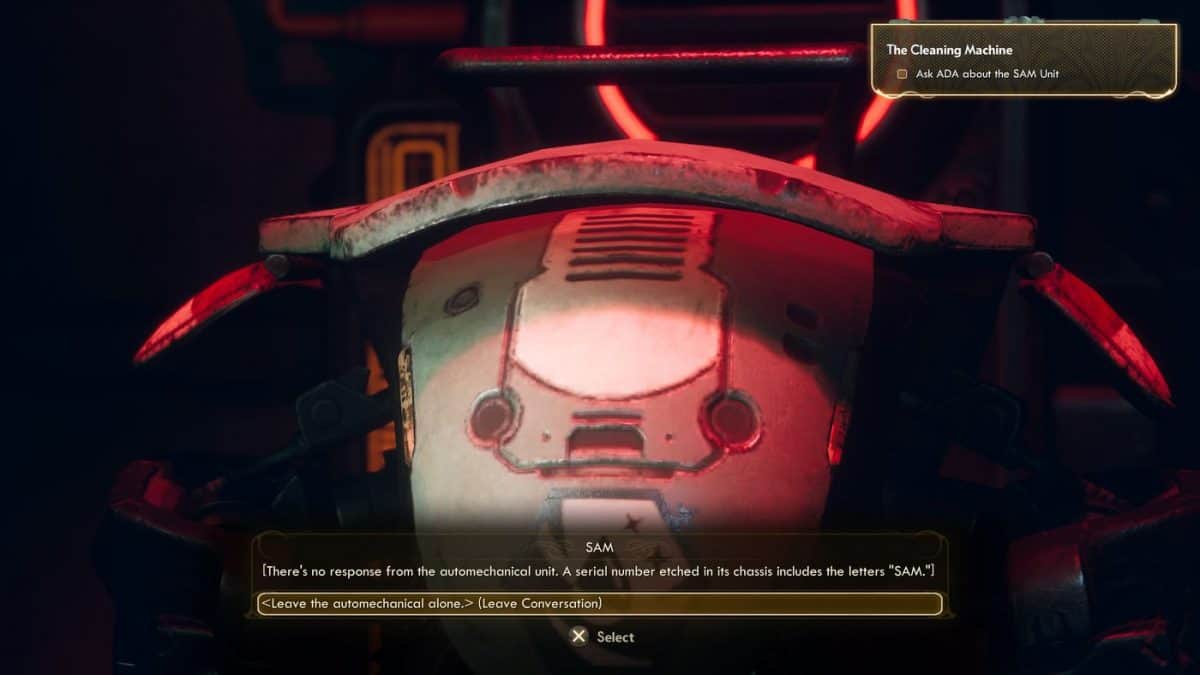 The Outer Worlds The Cleaning Machine