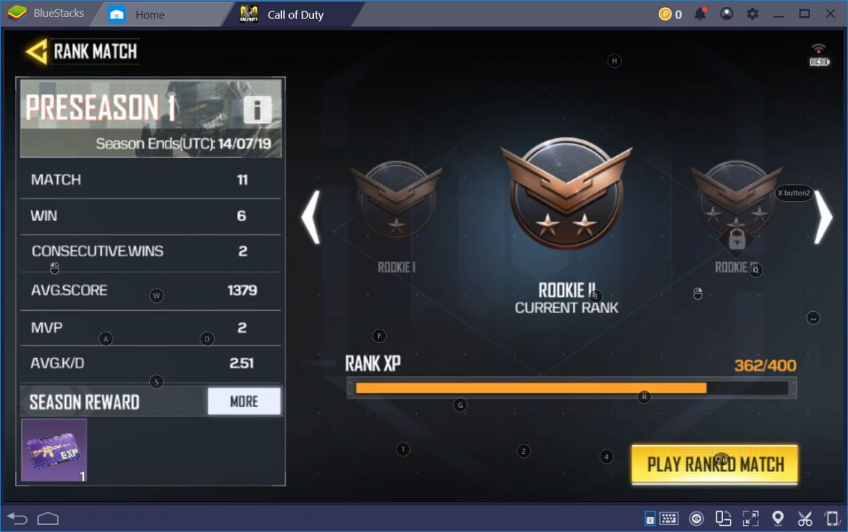 Call of Duty Mobile Ranking