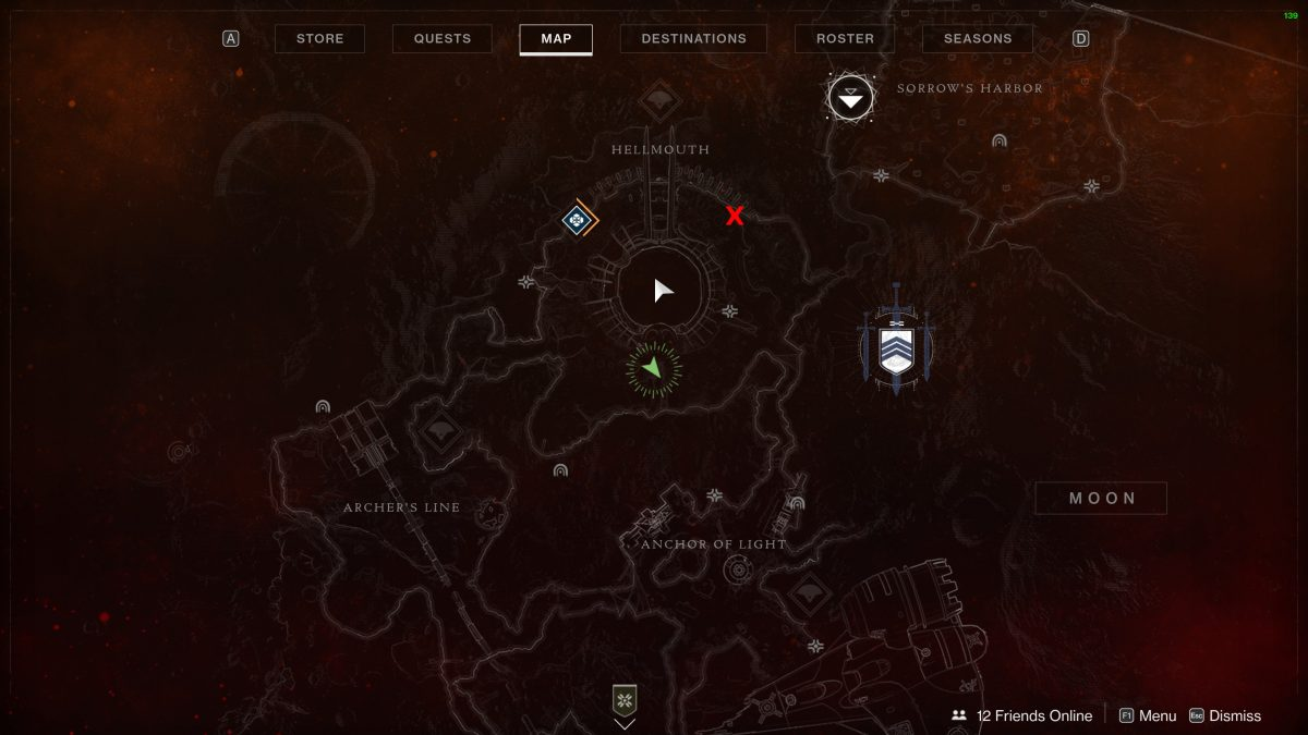 Destiny 2 Bound Manacle Location Guide