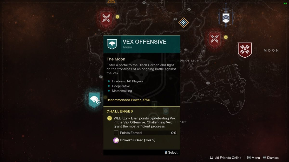 Destiny 2 Shadowkeep Powerful Rewards