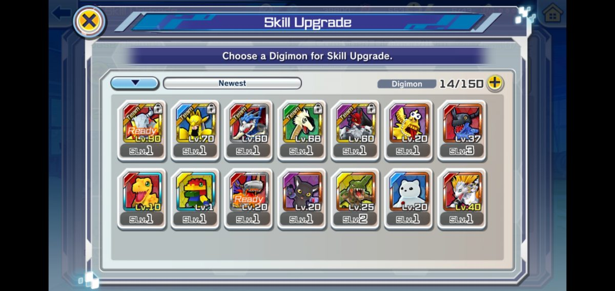 How to Level up Digimon in Digimon ReArise
