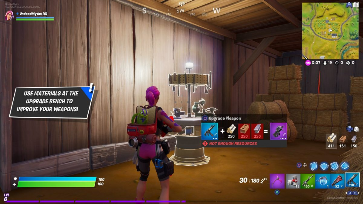 Fortnite Chapter 2 Upgrade Bench Locations Guide