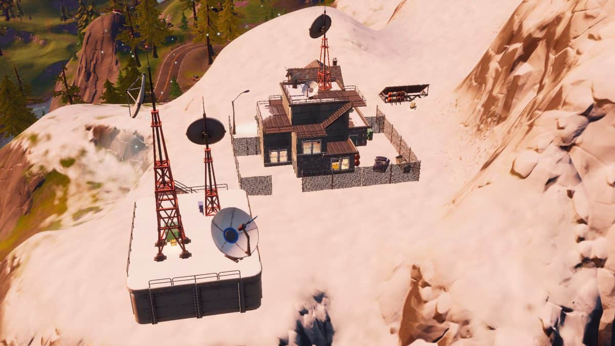 Fortnite Chapter 2 Weather Station Location