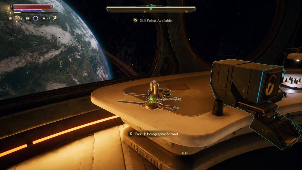 The Outer Worlds Holographic Shroud Guide