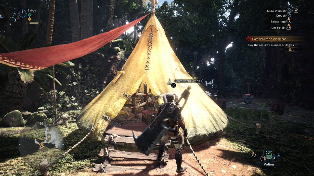 Iceborne Camp Locations