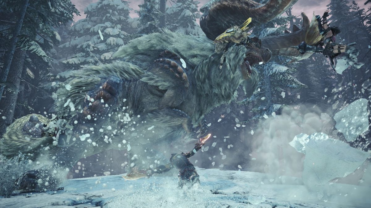 Monster Hunter World Iceborne Hoarfrost Reach Treasure Locations