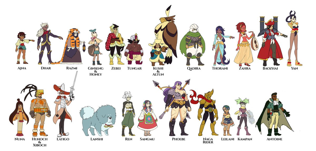 Unlock Characters in Indivisible