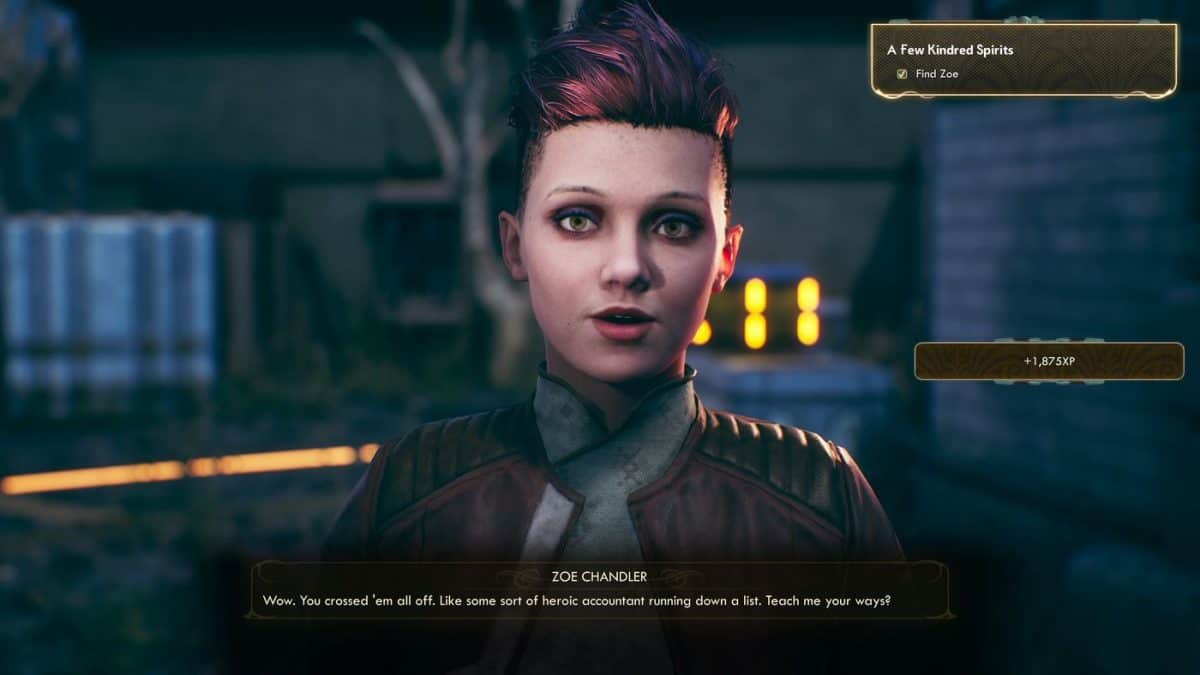 The Outer Worlds A Few Kindred Spirits Quest Guide