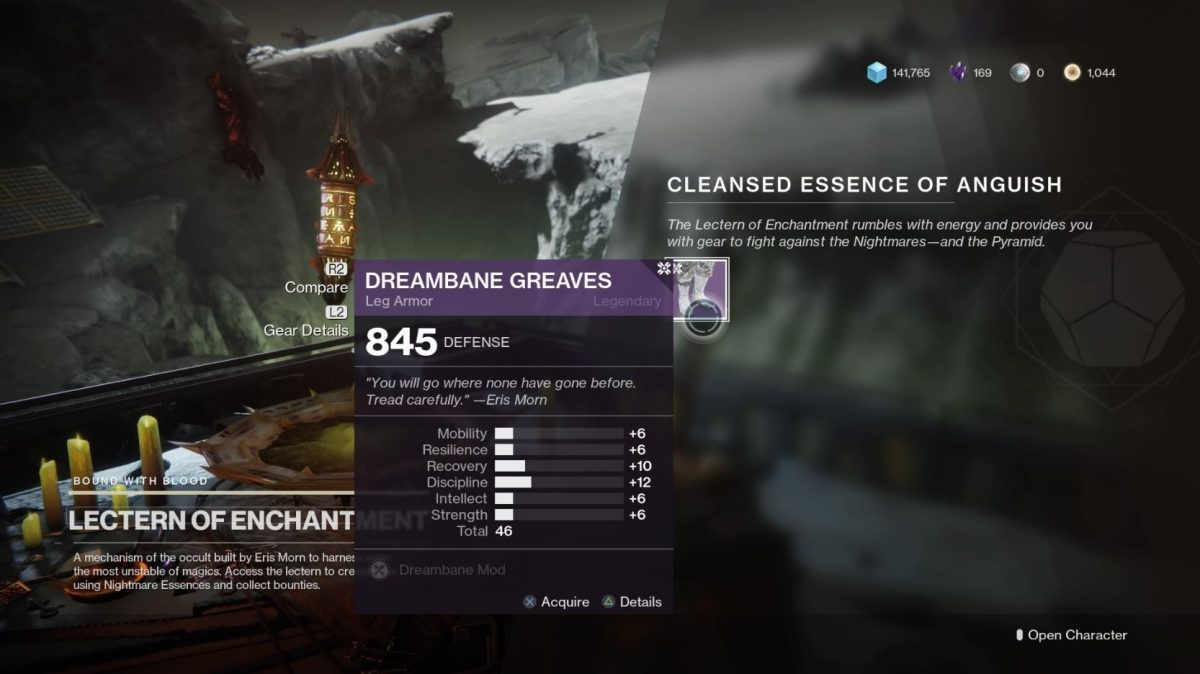 Destiny 2 Lectern of Enchantment Guide – Phantasmal Fragments, Essence Items Locations