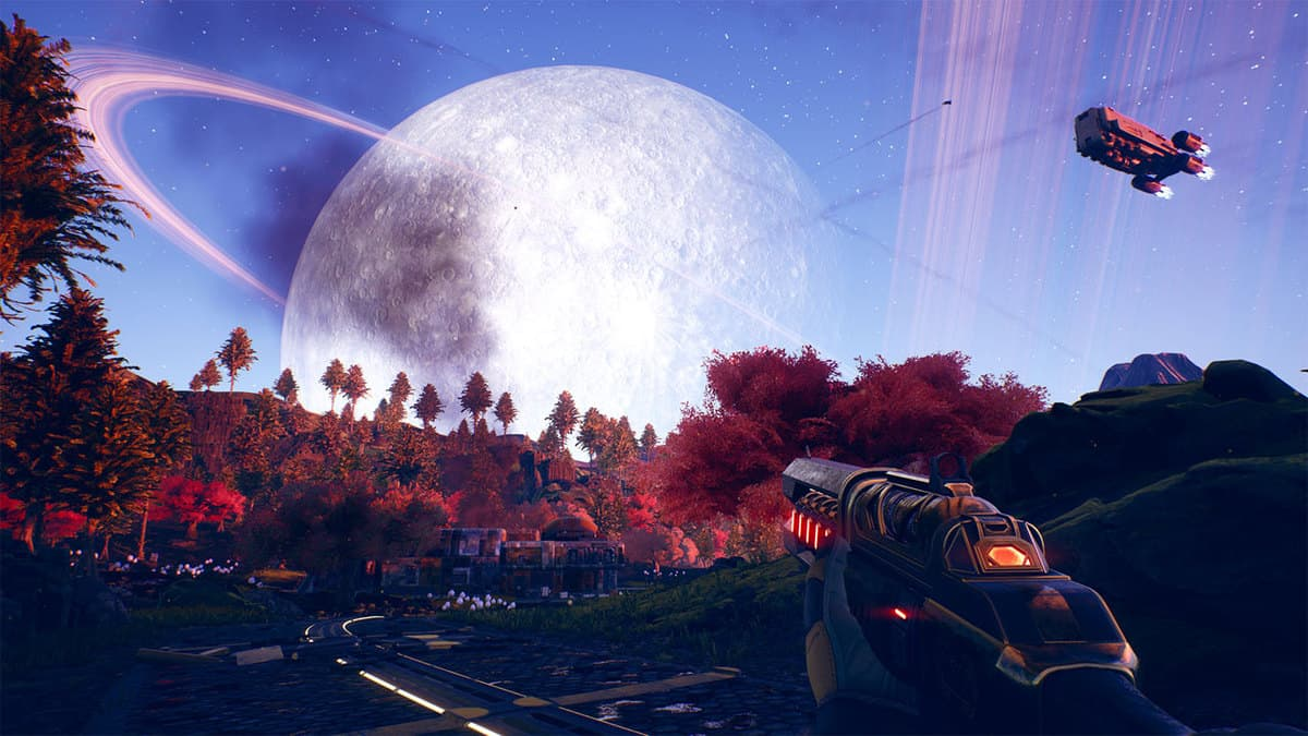change FOV in The Outer Worlds