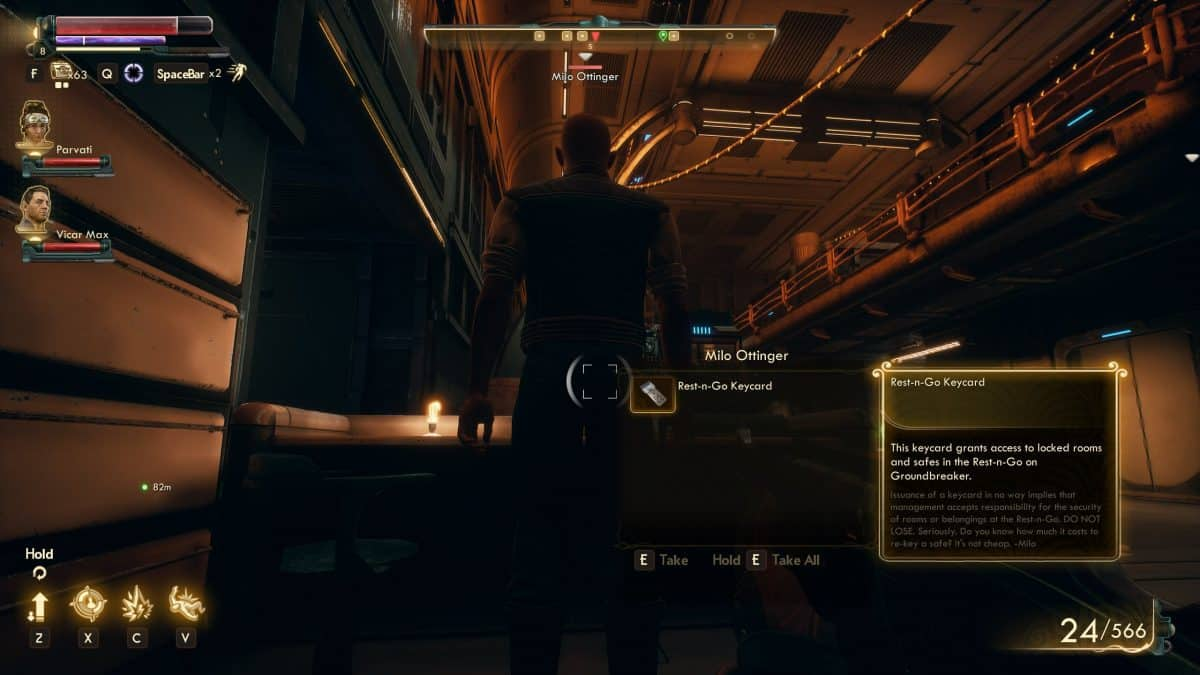 The Outer Worlds Pickpocketing Tips