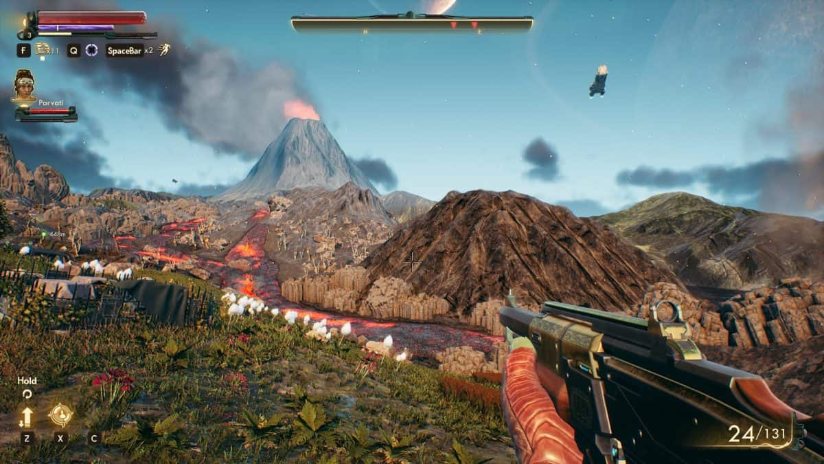 Disable Depth of Field and TAA in The Outer Worlds