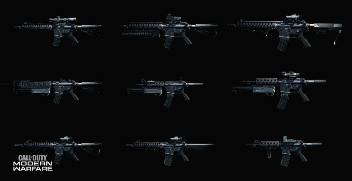 Image result for 'Call Of Duty Modern Warfare' weapons
