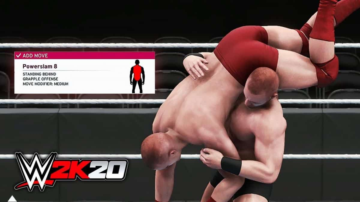 WWE 2K20 Moves