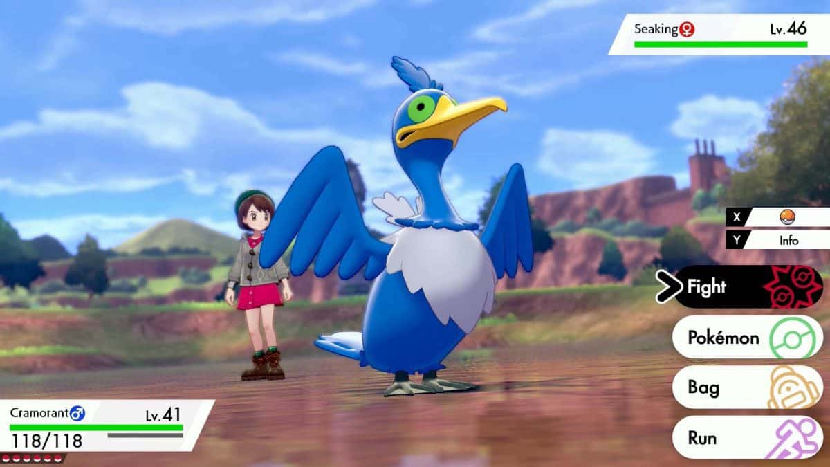 Pokemon Sword and Shield Cramorant Locations, How to Catch and Evolve
