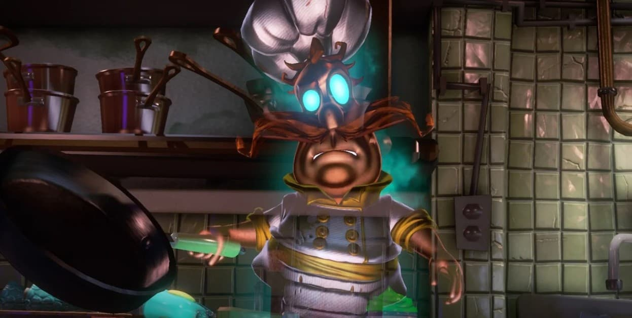 Luigis Mansion 3 Chef Soulffle Boss