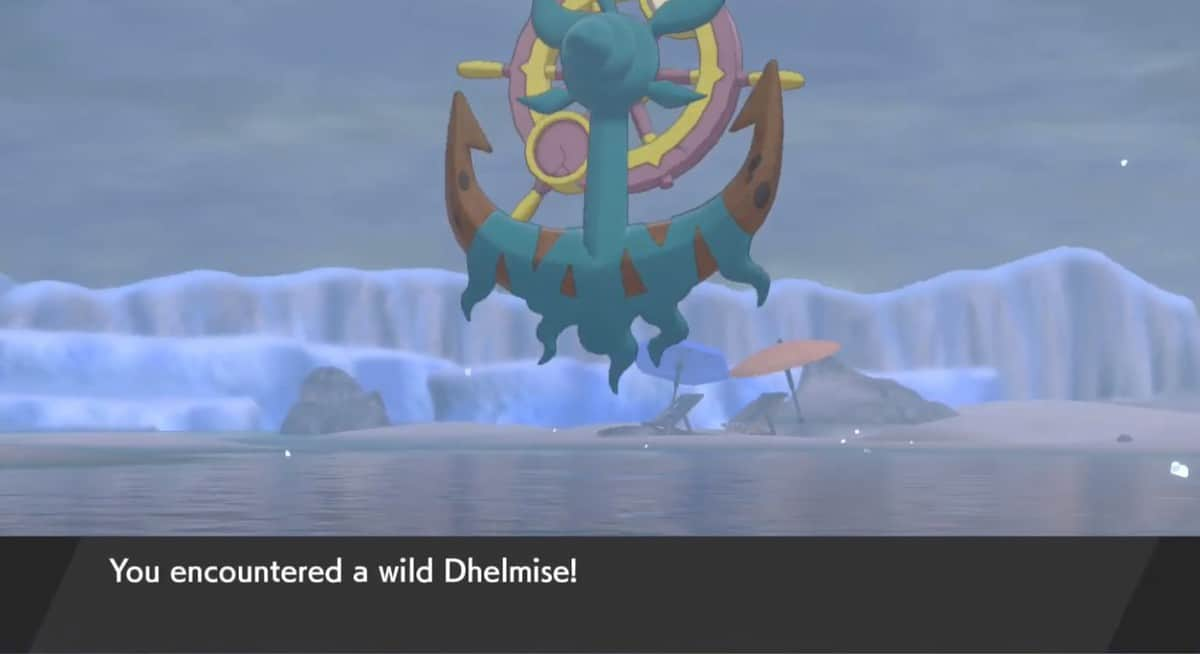Pokemon Sword and Shield Dhelmise Locations