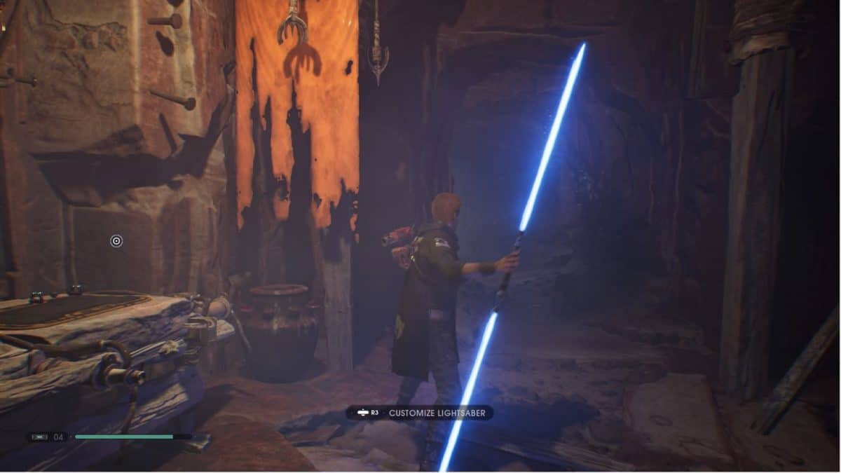 Jedi Fallen Order Double-bladed Lightsaber