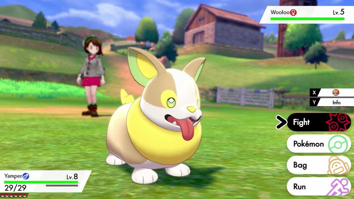 Pokemon Sword and Shield Early Pokemon