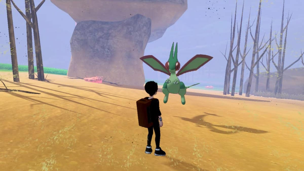 Pokemon Sword and Shield Flygon Locations