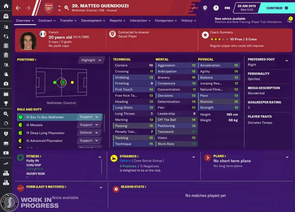 Football Manager 2020 Wonderkids