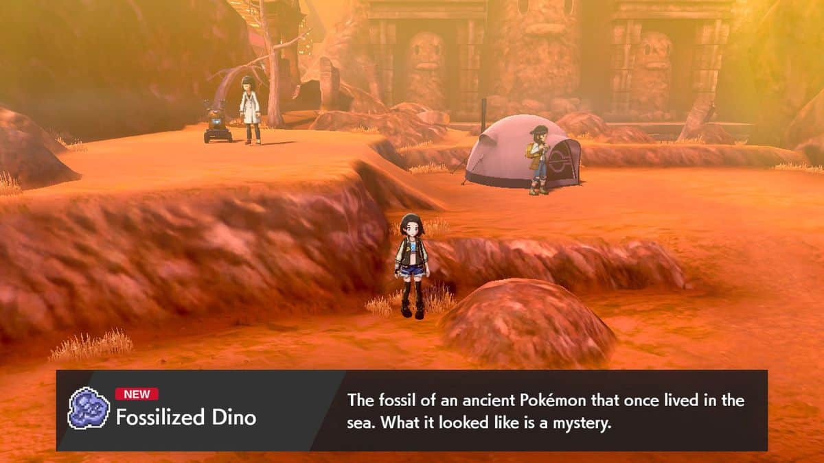 Pokemon Sword and Shield Fossil Pokemon Locations and Fossil Combinations Guide