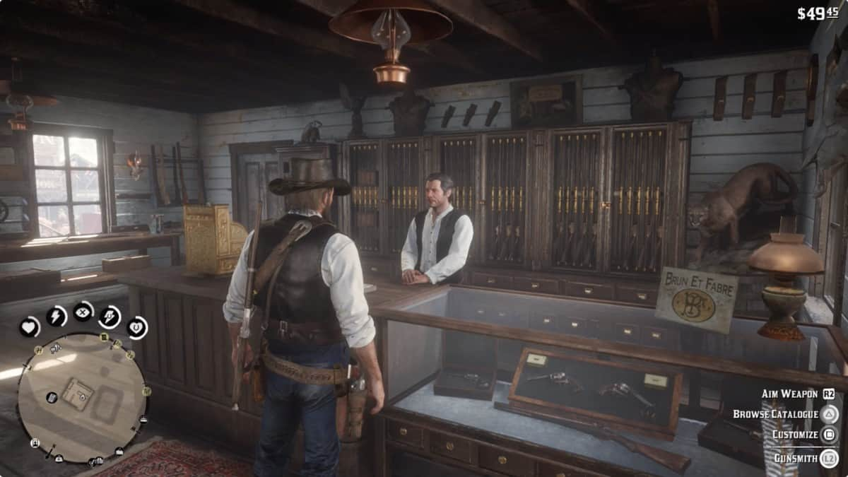 Red Dead Redemption 2 Gunsmith Locations Guide