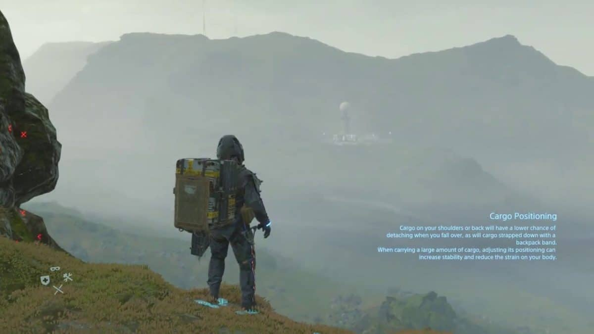 Dismantle Death Stranding Ladders