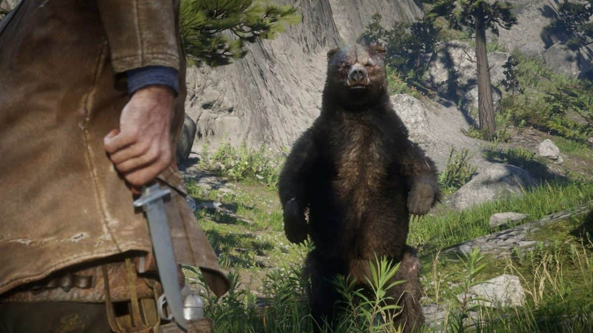 Red Dead Redemption 2 Legendary Bear Location Guide