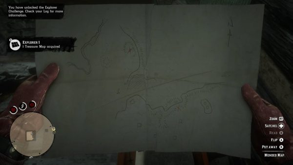 Red Dead Redemption 2 Torn (Mended) Treasure Maps Locations Guide mended-map-600x338.j