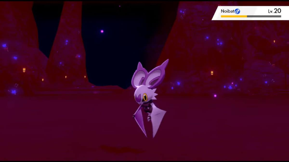 Pokemon Sword and Shield Noibat Locations, How to Catch and Evolve