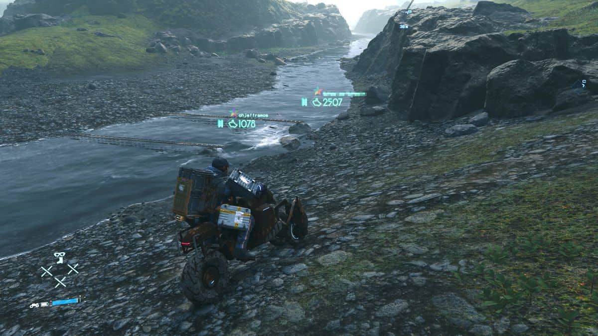Death Stranding Order 14: Aid Package Delivery to Port Knot City Guide