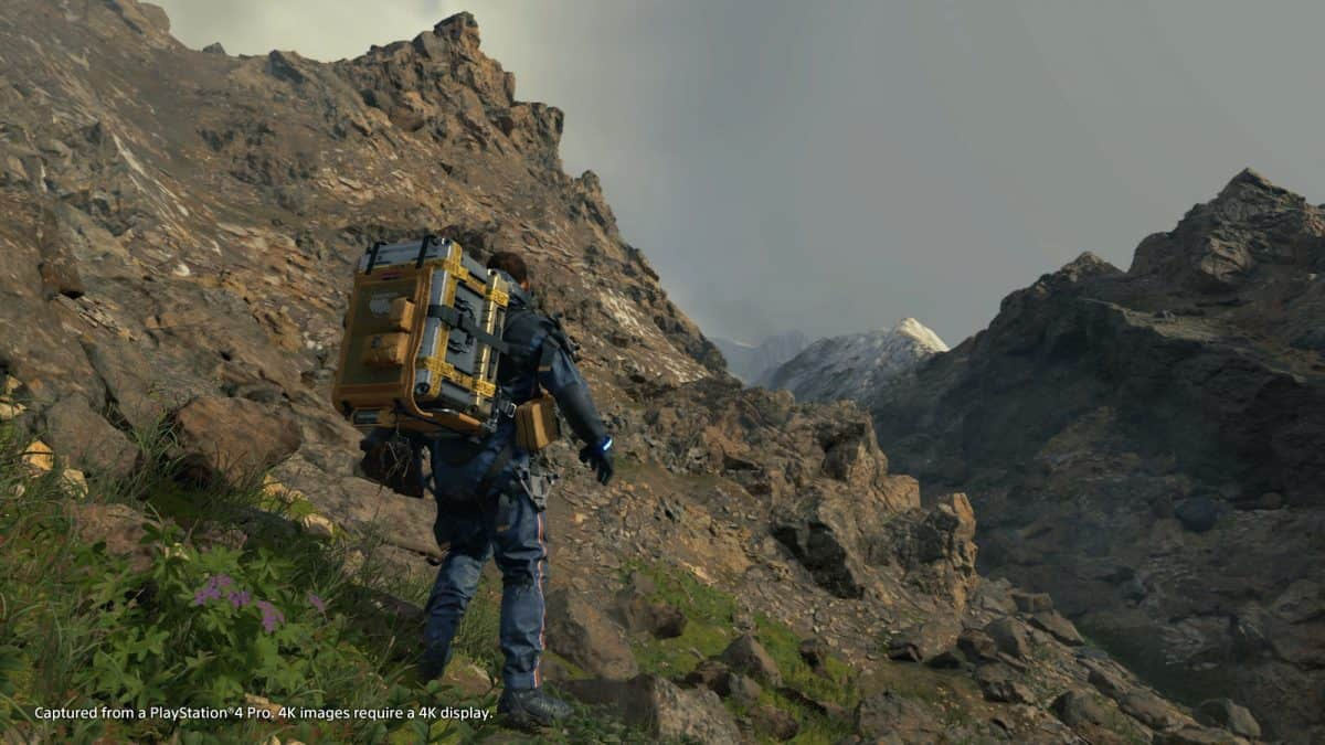 Death Stranding Order 25: Road Reconstruction Using Auto Paver Guide