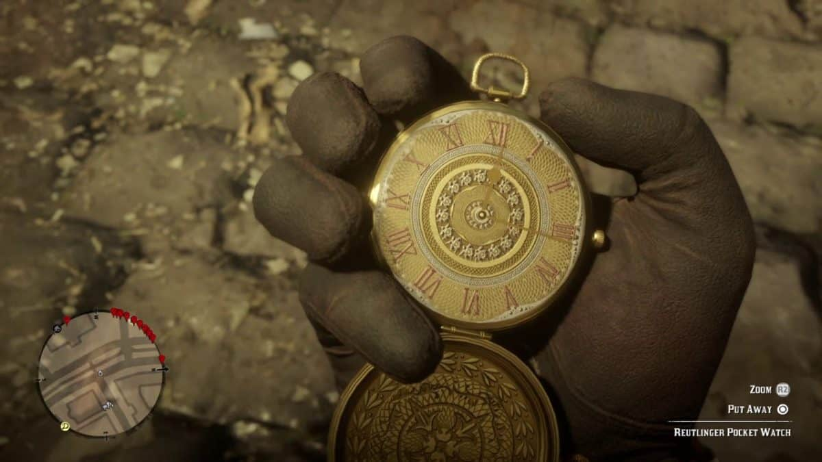 Red Dead Redemption 2 Lenny Pocket Watch