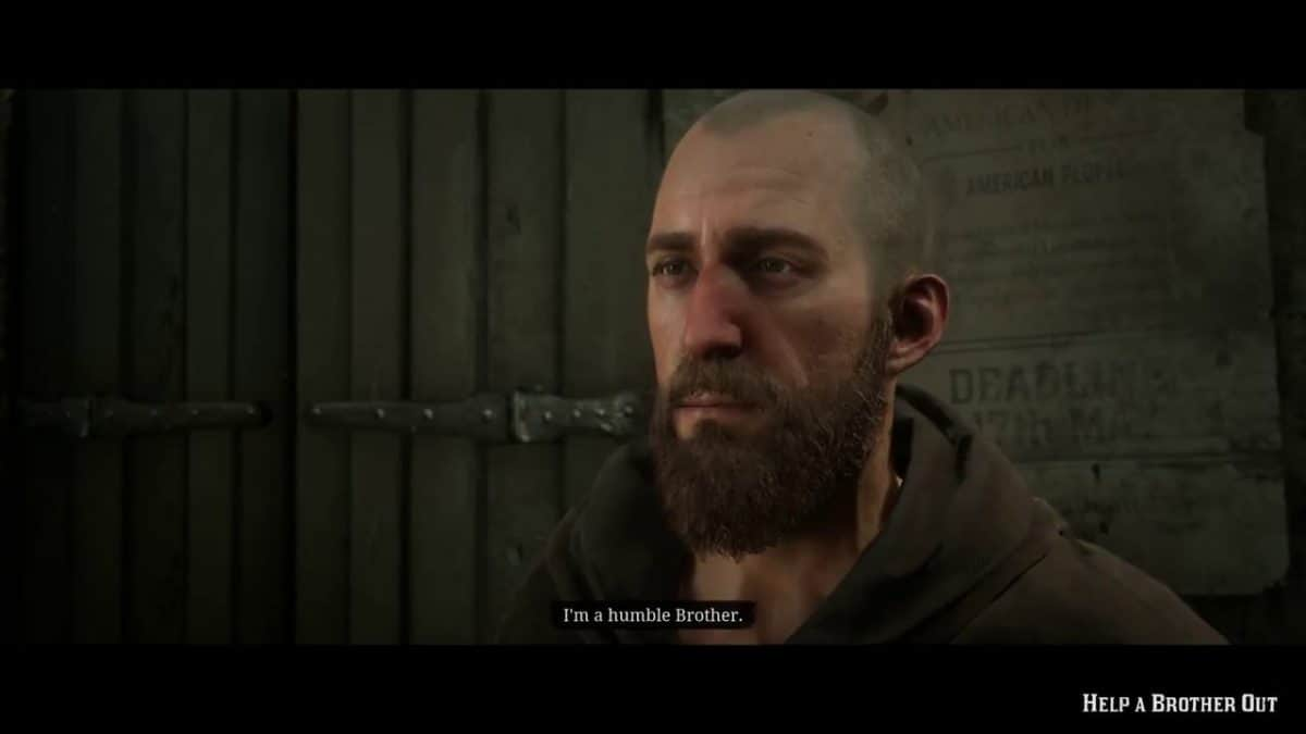 Red Dead Redemption 2 Help a Brother Out