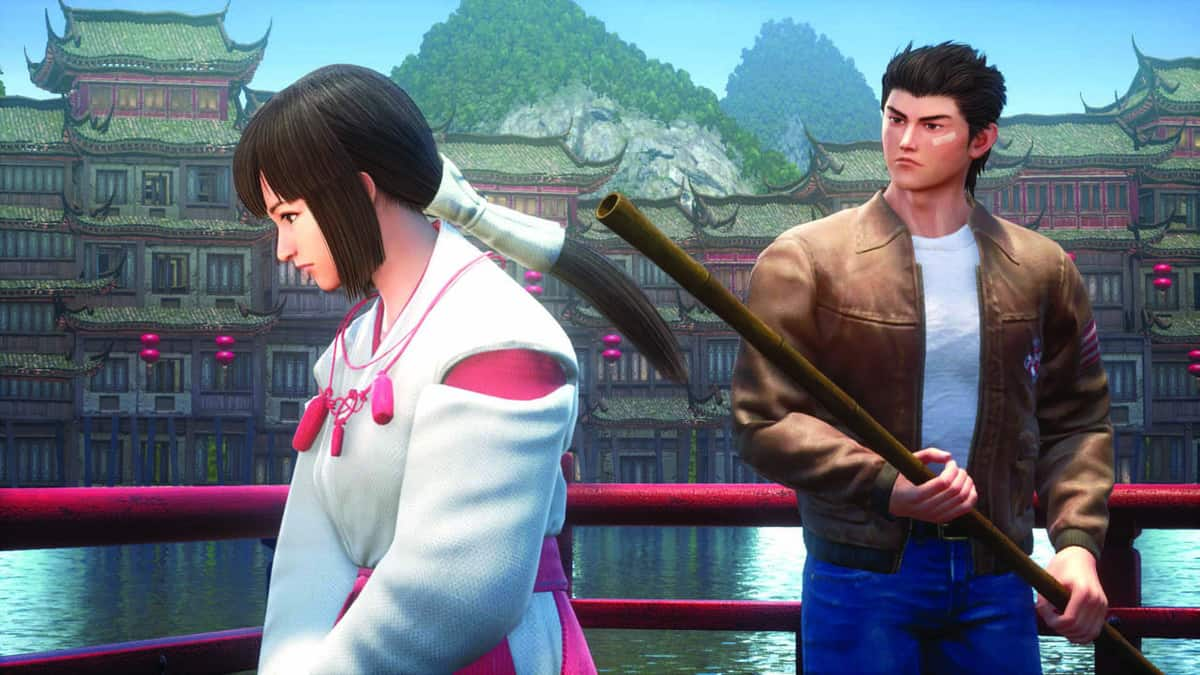 Shenmue 3 Capsule Sets: Shenmue 1, Heavy Machinery and Tennis Guide