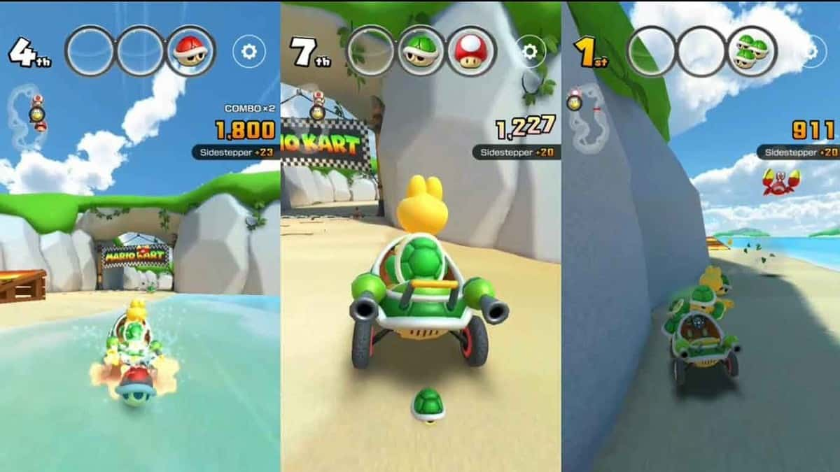 Mario Kart Tour Sidesteppers Challenge Guide