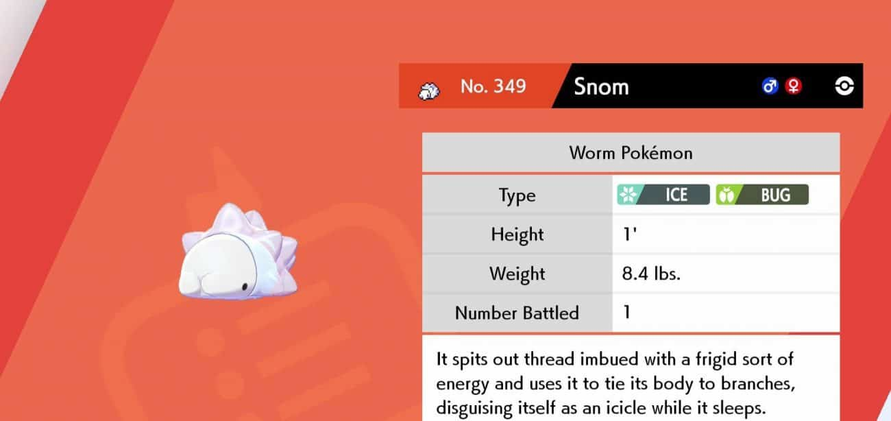 Pokemon Sword and Shield Snom Locations, How to Catch and Evolve